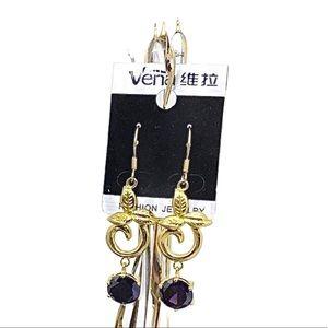Beautiful gold tone earrings 💝
